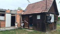 Szentmártonkáta, eladó, belterület közeli épülő családi ház, építőanyag áron!